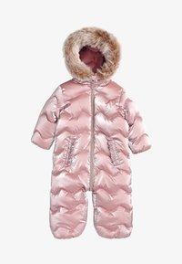 Next - Snowsuit - pink - 0