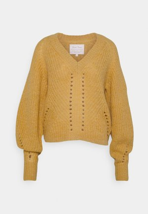 GLENIAPW - Jumper - bright gold