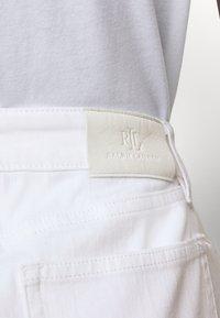 Lauren Ralph Lauren - BULL SKIRT - Jupe en jean - white wash - 3