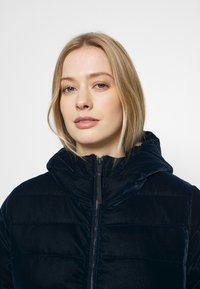 CMP - WOMAN JACKET FIX HOOD - Winter jacket - black blue - 4