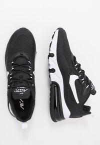 Nike Sportswear - AIR MAX  REACT - Trainers - black/white - 1