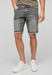 Q/S designed by - Denim shorts - grey - 0
