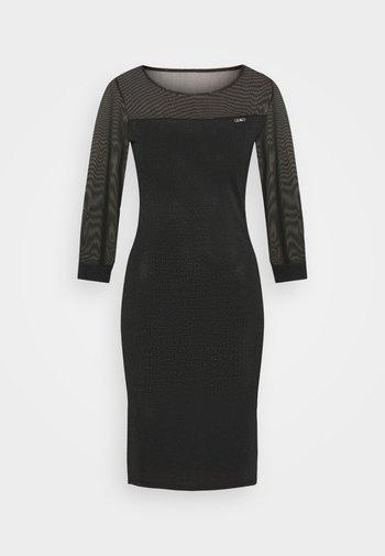 ABITO MAGLIA - Shift dress - nero