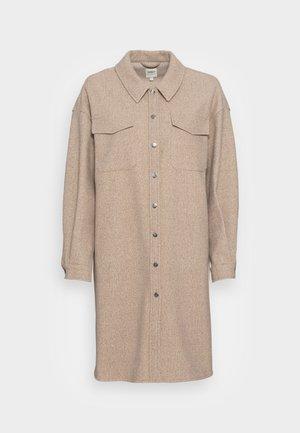 ONLELAINEA LONG SHACKET - Winter coat - walnut