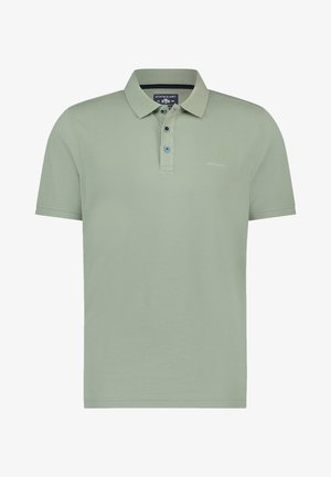 Poloshirt - leafgreen plain