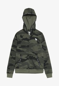 Abercrombie & Fitch - Zip-up hoodie - olive - 2
