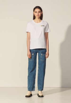 MATHIEU - Print T-shirt - blanc