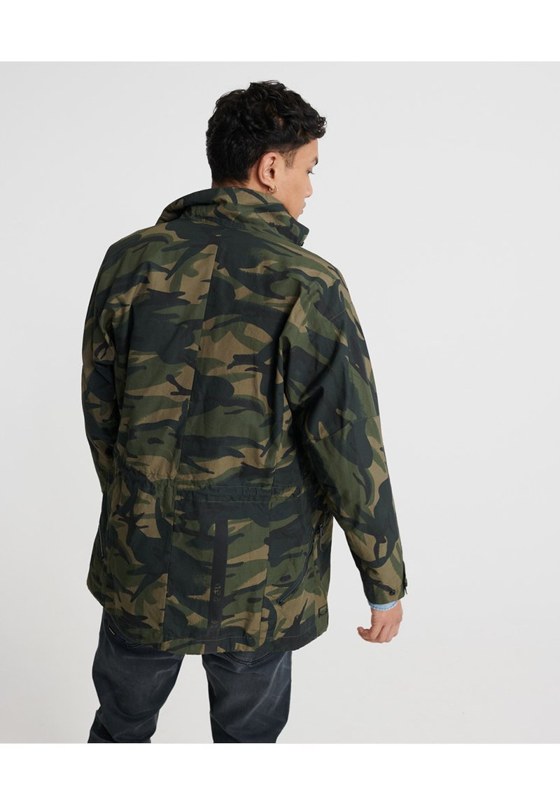 Superdry - SUPERDRY UTILITY FIELD JACKET - Outdoor jacket - army camo