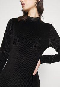 Glamorous - LONG SLEEVE DRESS - Shift dress - black - 5