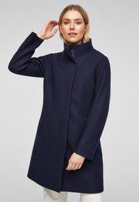 s.Oliver - Classic coat - navy - 0