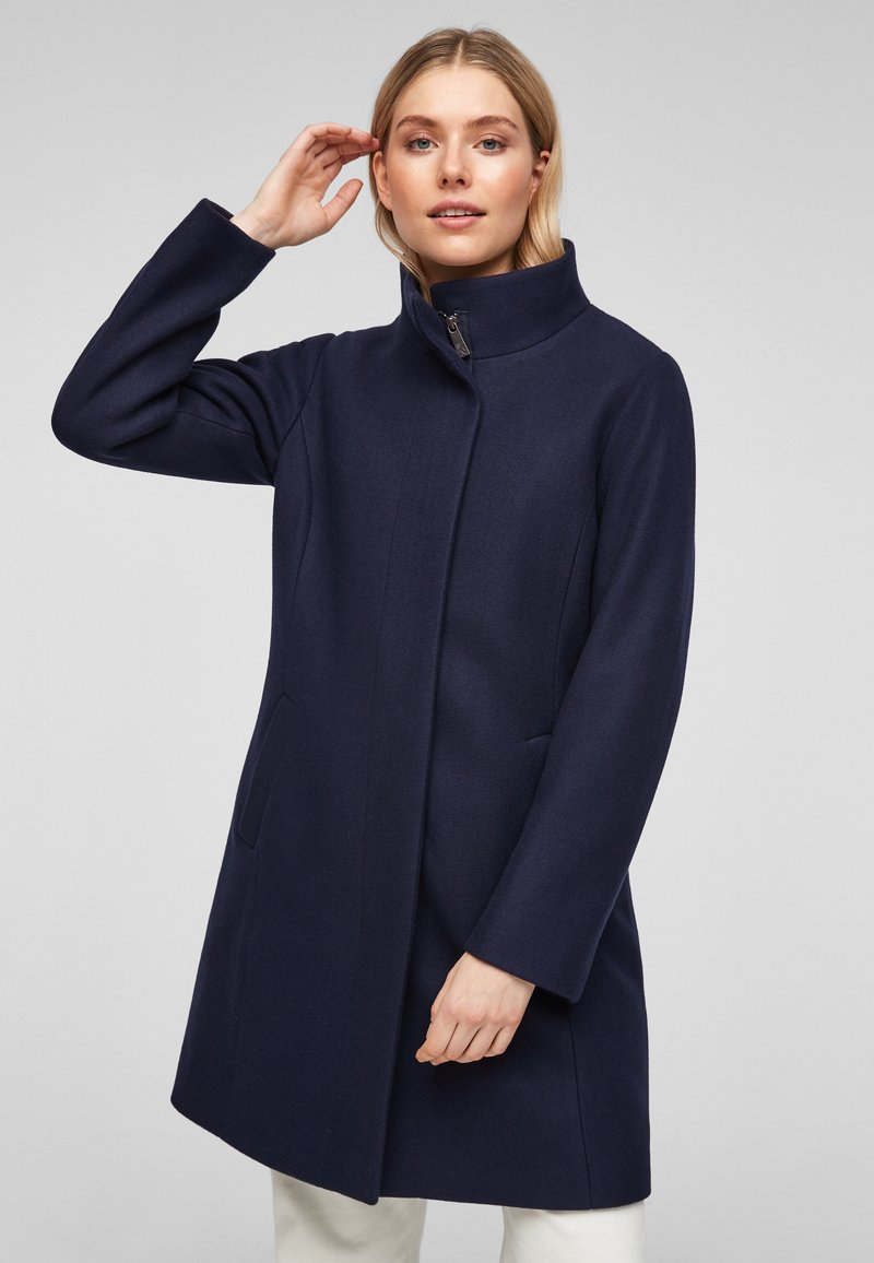s.Oliver - Classic coat - navy