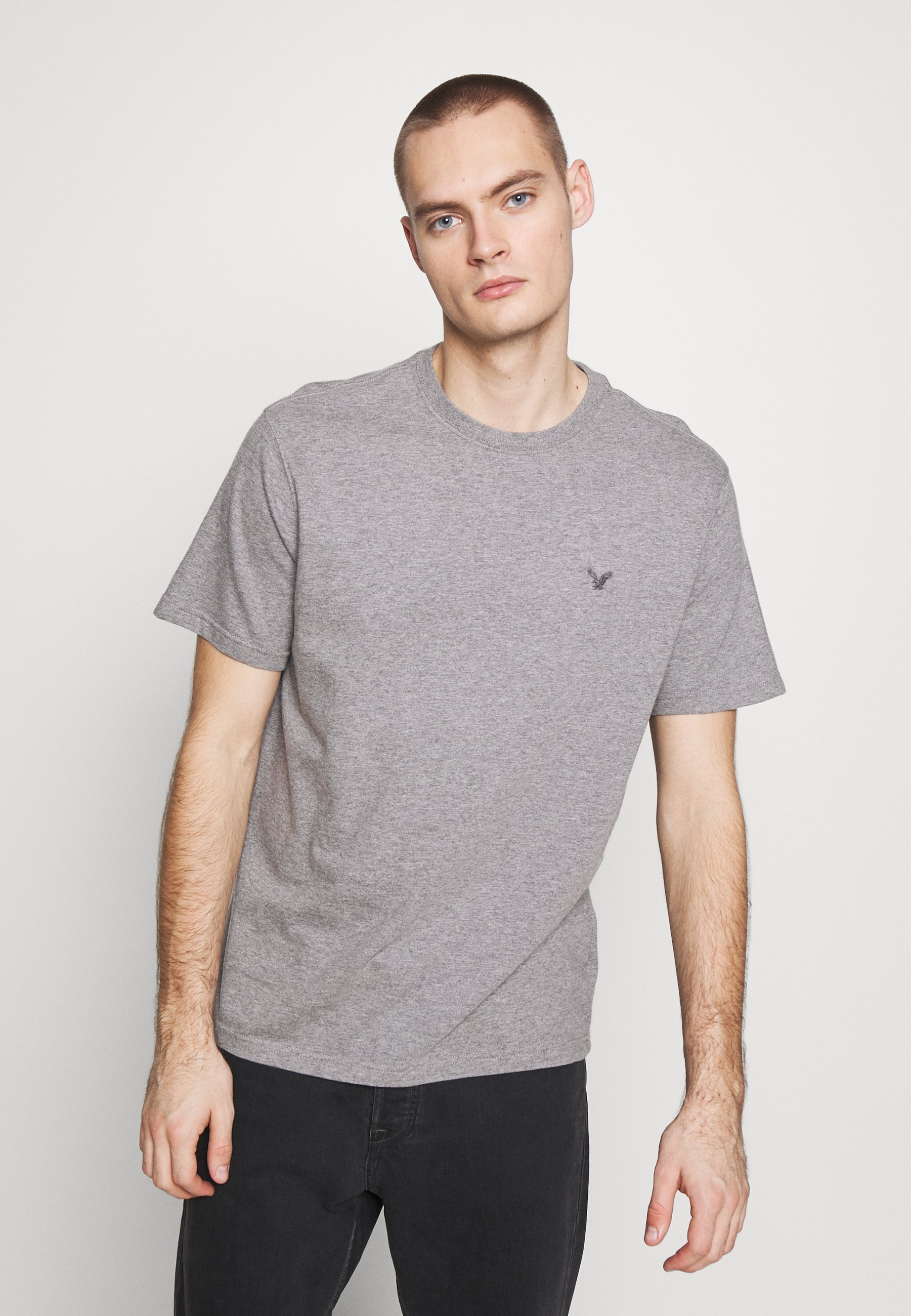 American Eagle Crew Tee 3 Pack - T-shirts Med Print Multi
