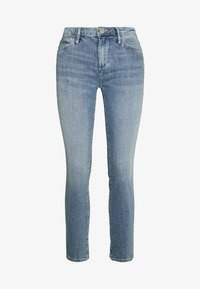NEW HALLE - Skinny džíny - blue denim destroyed