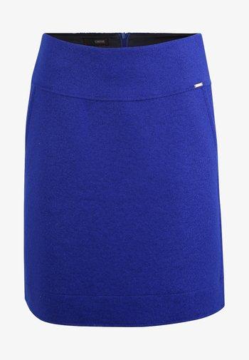 CICLEAN - A-line skirt - royal blue
