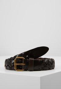 Marc O'Polo - LADIES - Flettet belte - brown - 0