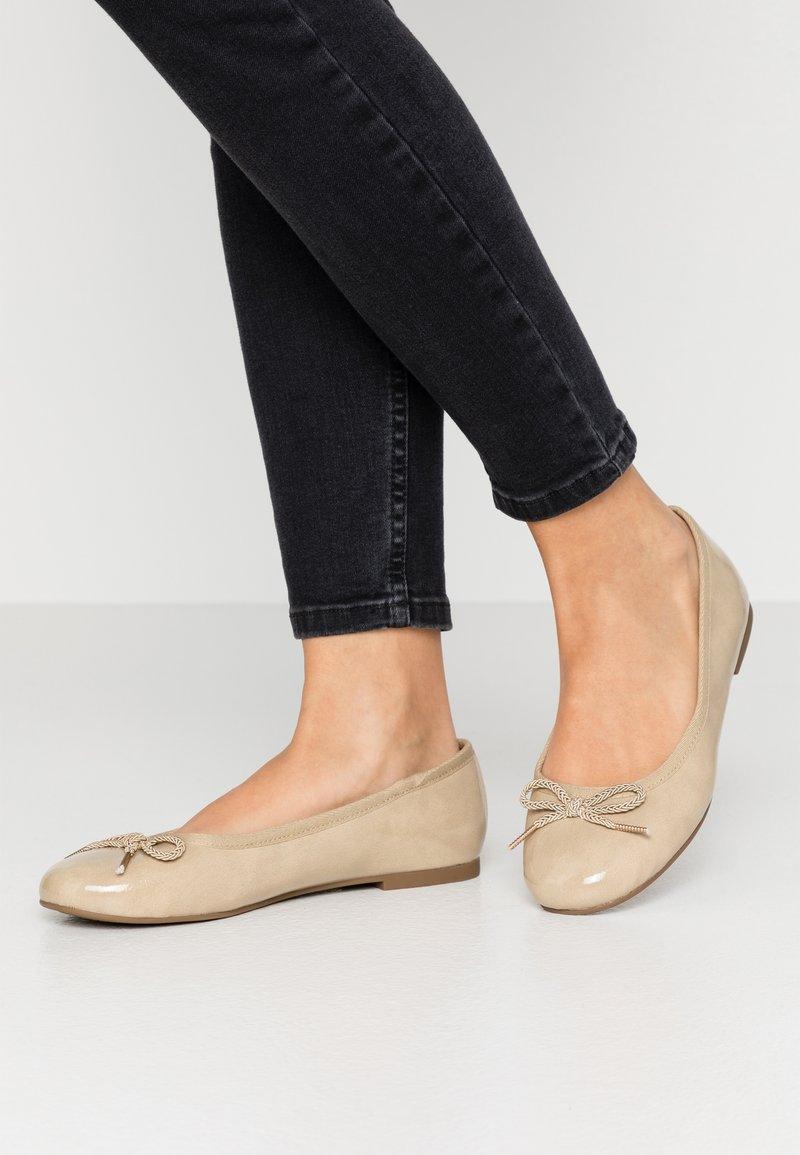 Tamaris - Ballet pumps - nude