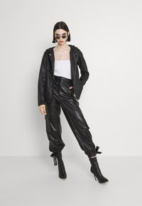 ONLY - ONLSEDONA - Faux leather jacket - black - 1