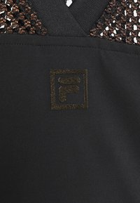 Fila - NIVEO CROPPED - Print T-shirt - black - 6
