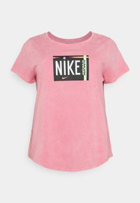Nike Sportswear - TEE WASH PLUS - Print T-shirt - sunset pulse - 0