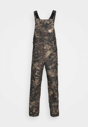 BIB OVERALL DEARBORN - Dungarees - olive
