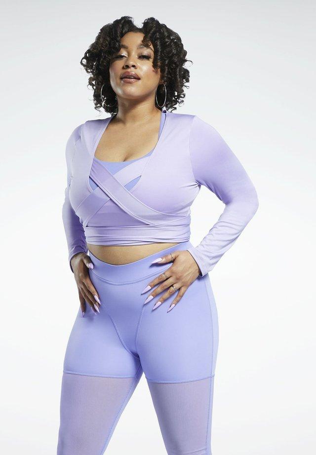 Maglietta a manica lunga - purple