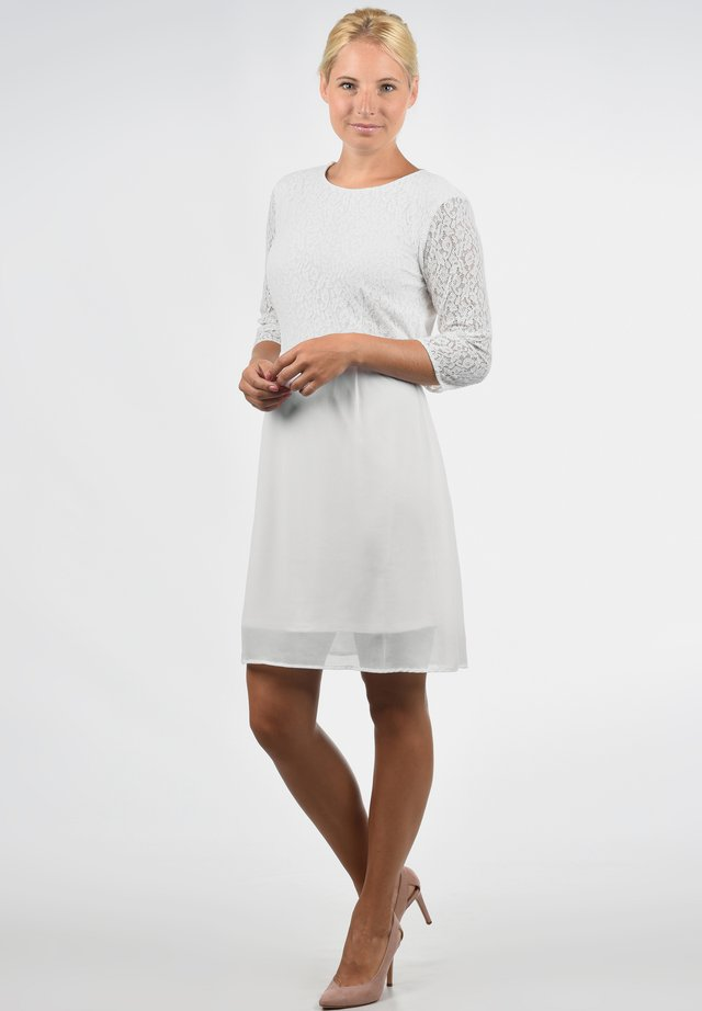 SPITZENKLEID EVE - Cocktail dress / Party dress - snow white