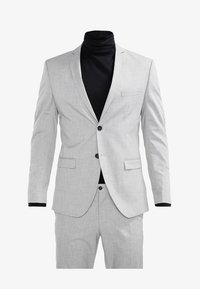 Selected Homme - SHDNEWONE MYLOLOGAN SLIM FIT - Traje - light grey melange - 10