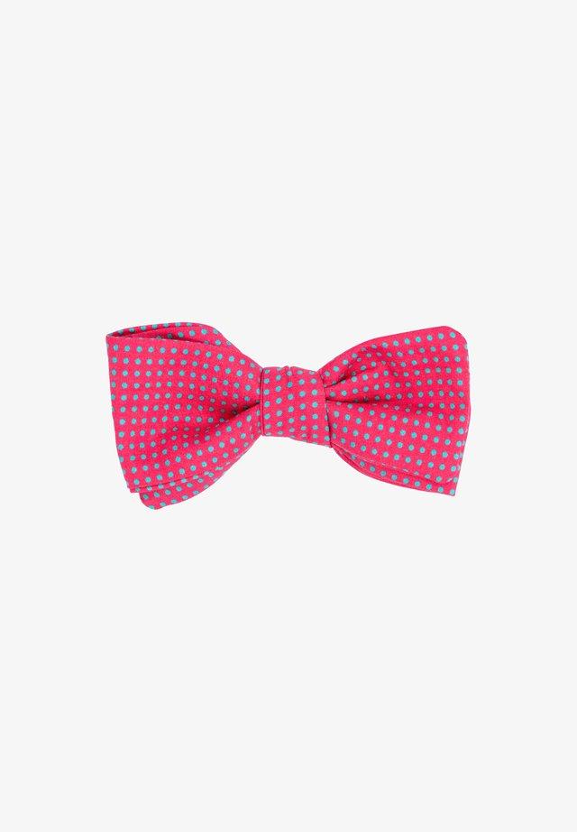 Vlinderdas - pink