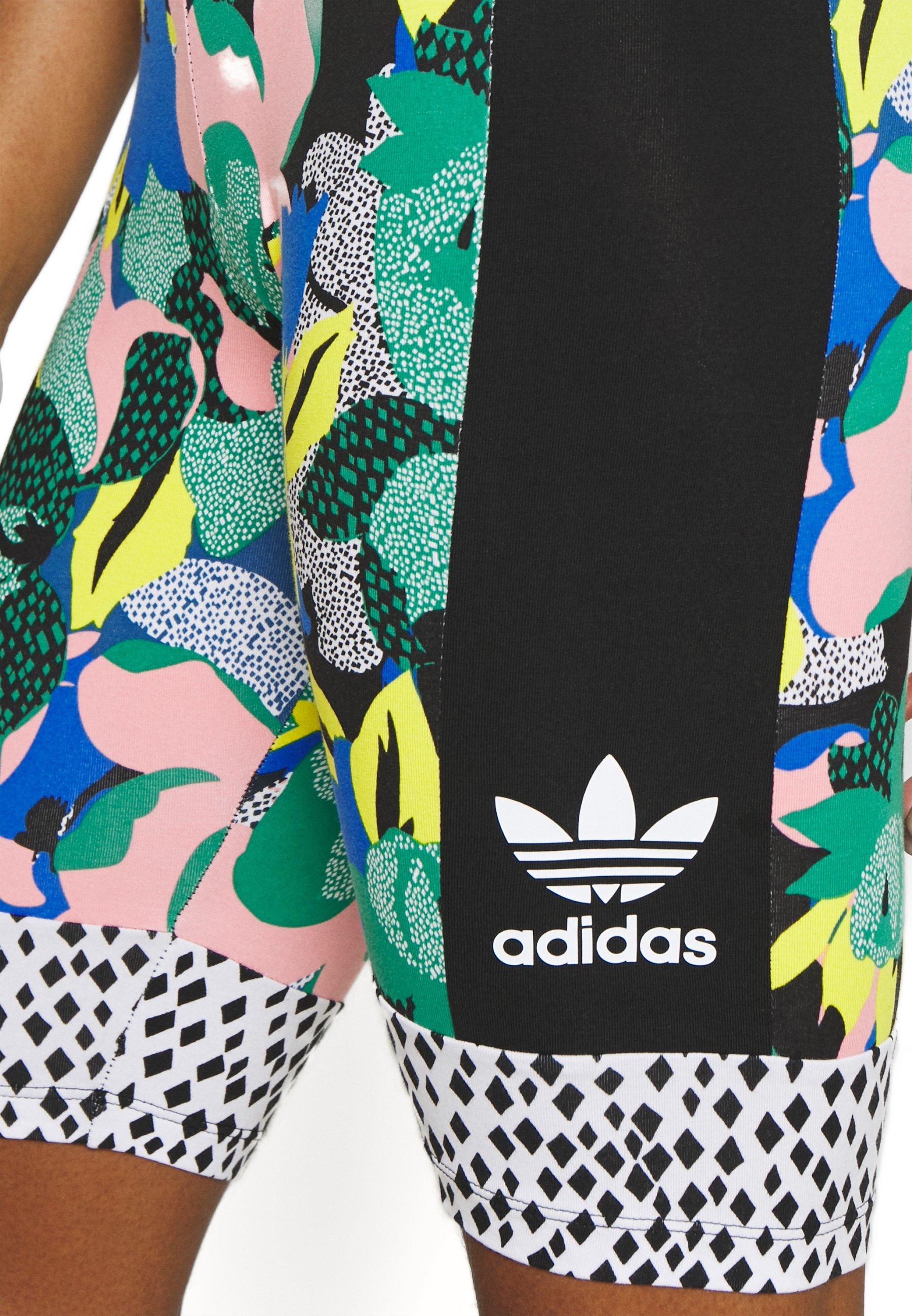 adidas Originals CYCLING TIGHTS - Short - multi coloured - Pantalons & Leggings Femme wWJwl