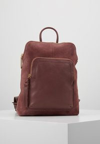 mint&berry - LEATHER - Rucksack - dusty rose - 0