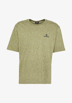 TARGET - Print T-shirt - martini olive