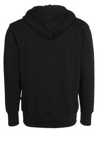 Alpha Industries - BIG A - Zip-up hoodie - black - 1
