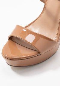 Steve Madden - STUNNING - High heeled sandals - camel - 2