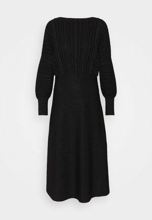 PROCIDA - Jumper dress - black
