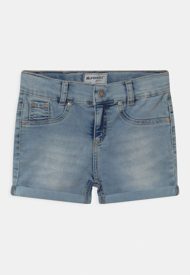 GIRLS  - Shorts di jeans - light-blue denim