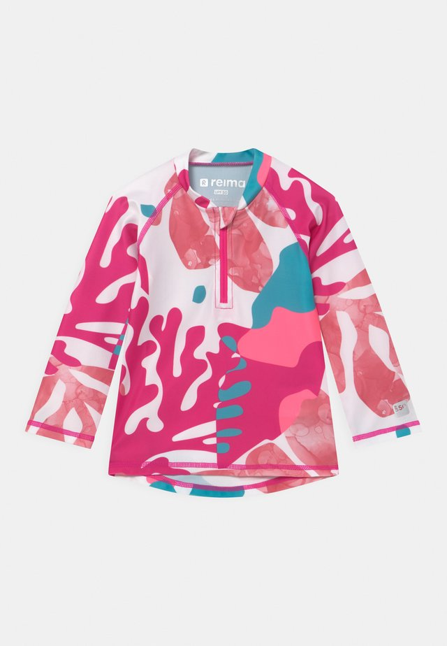 TUVALU UNISEX - Rash vest - fuchsia pink