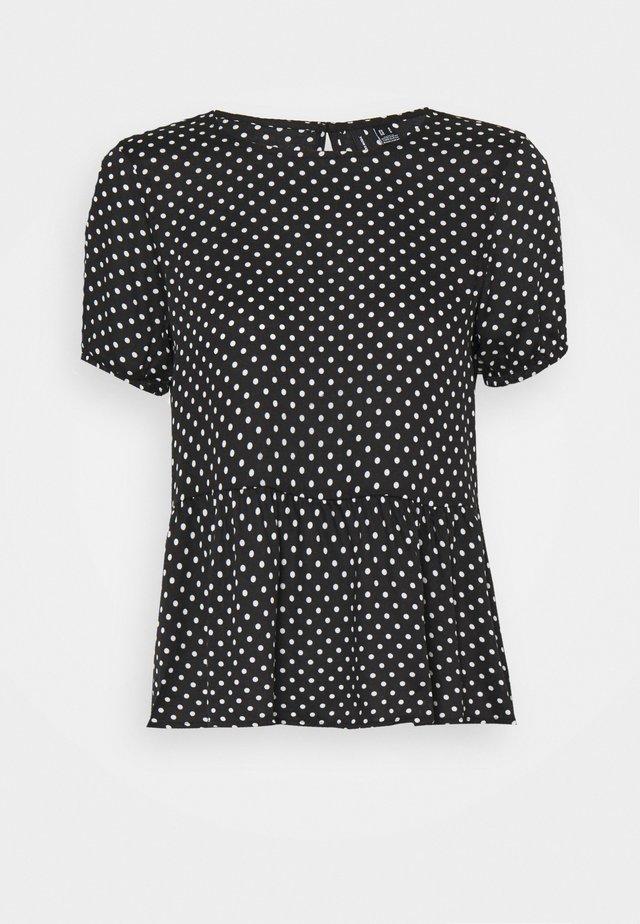 VMFIE - Print T-shirt - black/birch