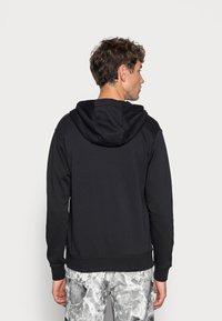 Nike Sportswear - M NSW FZ FT - Felpa con zip - black/white - 2