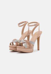 ALDO - ADREDITH - Platform sandals - bone - 2