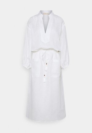 MIDI TUNIC DRESS - Robe d'été - white