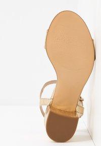 San Marina - ABRIGA - Sandals - gold - 6