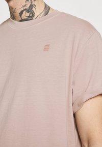 G-Star - LASH - Jednoduché triko - light pink - 4