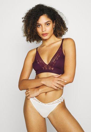 SENSE SOFT BRA - Triangle bra - dark violet