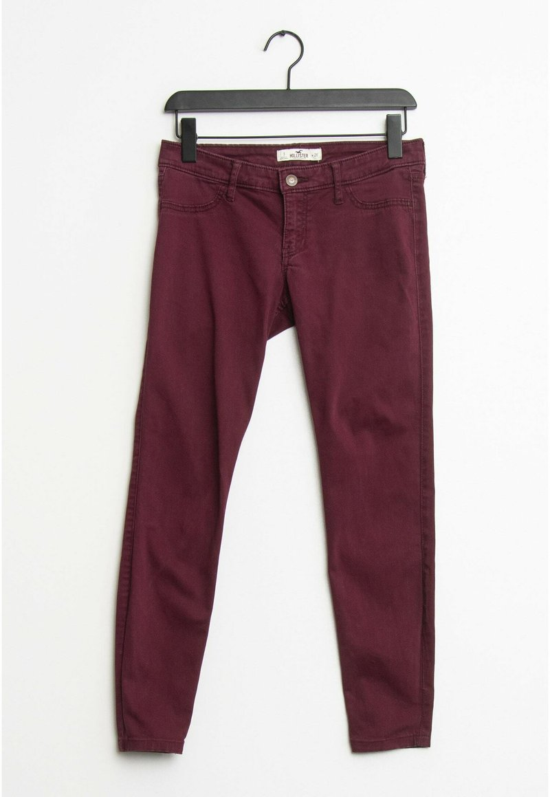 Hollister Co. - Slim fit jeans - red