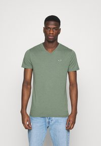 Hollister Co. - 5 PACK - Print T-shirt - white/blue/sage/navy/black - 5