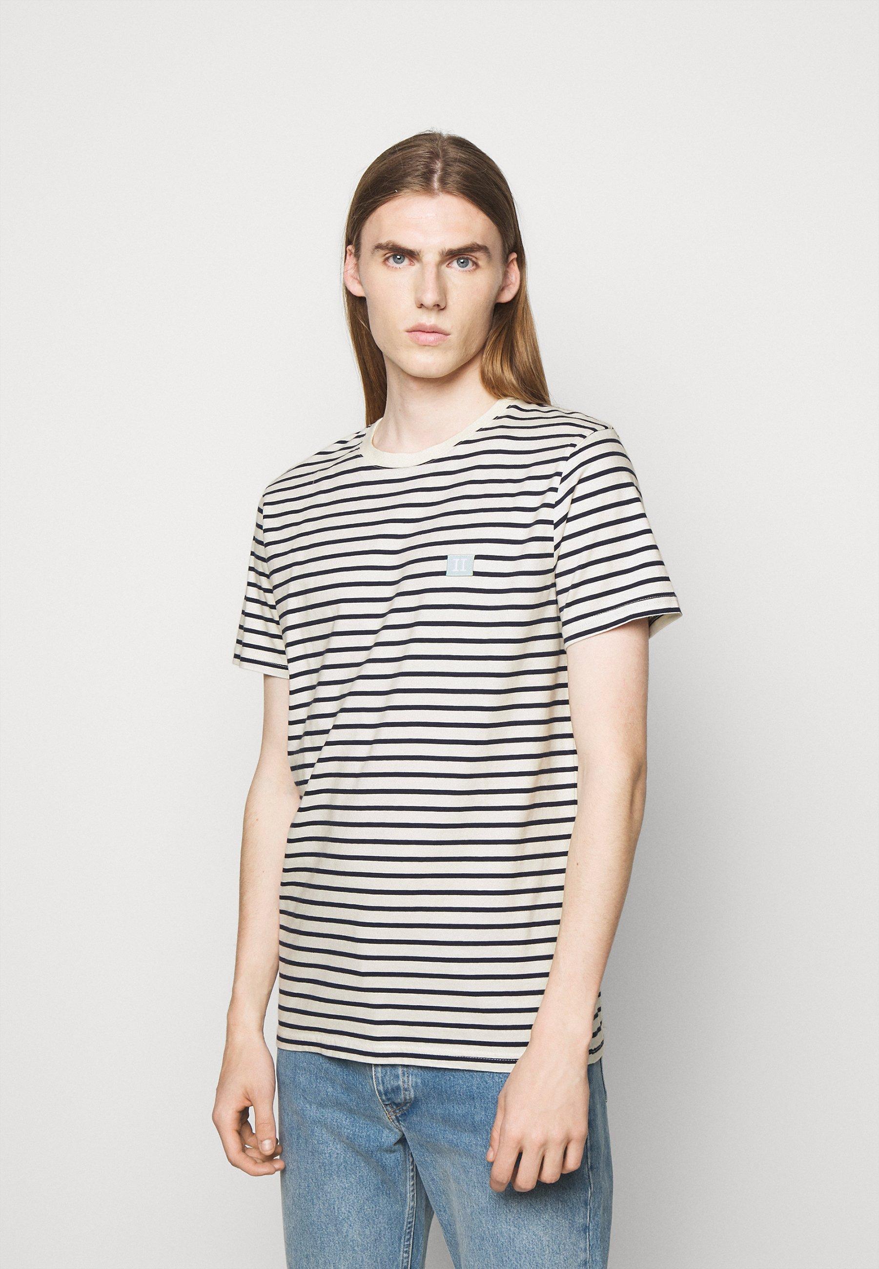 Men SAILOR STRIPE PATCH  - Print T-shirt