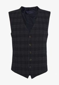 Ben Sherman Tailoring - MIDNIGHT TEXTURED CHECK SUIT - Completo - navy - 13