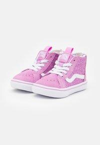 Vans - COMFYCUSH SK8 ZIP - Sneakers hoog - orchid/true white - 1