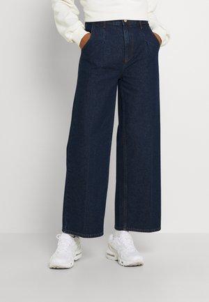 BYKATO BYKANTA - Flared Jeans - dark blue denim