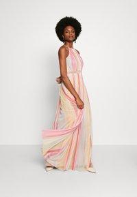 Anaya with love - HALTER NECK MAXI DRESS - Vestito lungo - multi stripe - 1